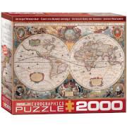 Eurographics Puzzle Antike Weltkarte