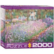 Eurographics Puzzle Monets Garten, Monet