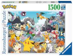 Ravensburger 16784 Puzzle Pokémon Classics 1500 Teile
