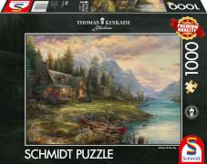 Schmidt Spiele 59918 Puzzle 1000T Ausflug am Vatertag