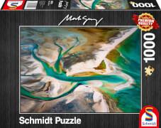 Schmidt Spiele 59921 Puzzle 1000 M.Gray Verschmelzung