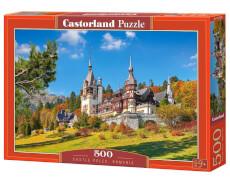 Glow2B Castorland Castle Peles, Romania, Puzzle 500 Teile