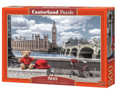 Glow2B Castorland Little Journey to London, Puzzle 500 Teile