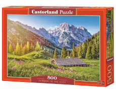 Glow2B Castorland Summer in the Alps, Puzzle 500 Teile