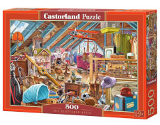 Glow2B Castorland The Cluttered Attic, Puzzle 500 Teile