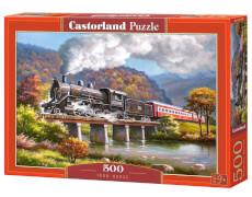 Glow2B Castorland Iron Horse, Puzzle 500 Teile