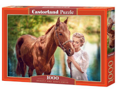 Glow2B Castorland Beauty and Gentleness, Puzzle 1000 Teile