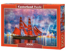Glow2B Castorland Red Frigate, Puzzle 1000 Teile