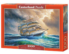 Glow2B Castorland Sailing Against All Odds, Puzzle 1000 Teile