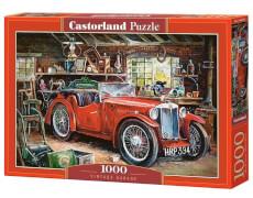 Glow2B Castorland Vintage Garage, Puzzle 1000 Teile