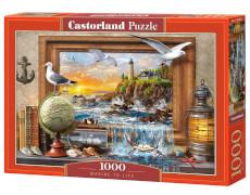 Glow2B Castorland Marine to Life, Puzzle 1000 Teile