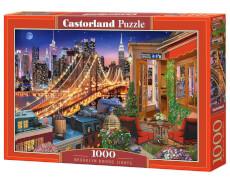 Glow2B Castorland Brooklyn Bridge Lights, Puzzle 1000 Teile