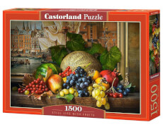 Glow2B Castorland Still Life with Fruits, Puzzle 1500 Teile