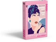 Feel-good-Puzzle 1000 Teile –INSPIRING WOMEN: Audrey Hepburn