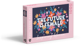 Feel-good-Puzzle 1000 Teile –INSPIRING WOMEN: The Future is female