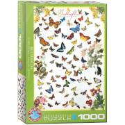 EuroGraphics Puzzle Schmetterlinge 1000 Teile
