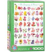 EuroGraphics Puzzle Die Sprache der Blumen 1000 Teile