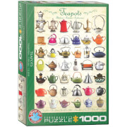 EuroGraphics Puzzle Teekannen 1000 Teile