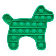 Bubble Fidget - Hund grün
