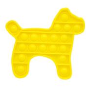 Bubble Fidget - Hund gelb