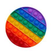 Bubble Fidget - Rund rainbow