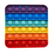 Bubble Fidget - Quadrat rainbow