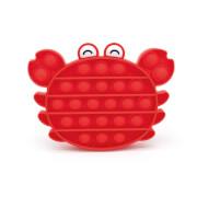 Bubble Fidget - Krabbe rot