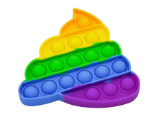 Bubble Fidget - Kackhaufen rainbow