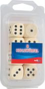 Noris  Spiele 8 Würfel aus Holz natur 20 mm