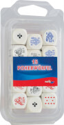 Simba Noris  Spiele 15 Pokerwürfel Holz 16 mm