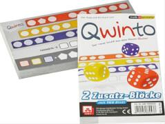 NSV Qwinto - Zusatzblöcke 2er-Pack Würfelspiel