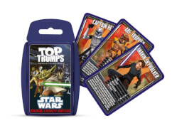 Winning Moves Top Trumps Star Wars Rise of the Bounty Hunters