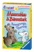 Ravensburger 20325 Mauseschlau&Bärenstark Bewegungsquartett