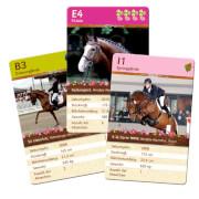Die Spiegelburg - Pferdefreunde Kartenspiel - Quartett, ab 6 Jahren, 2 - 4 Spieler