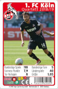 AMIGO 29952 1. FC Köln Quartett Saison 2018/2019