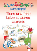 Loewe Lernspielzwerge KS:Tiere und ihre Lebensräume Quartett