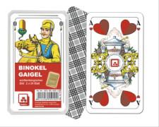 Asmodee Binokel Gaigel - Classic - würrtemb.Bild Klarsichtetui 7001