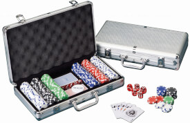 Pokerkoffer 300 Professional Chips 11,5g