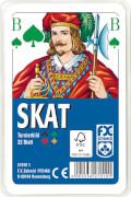 Ravensburger 27010 Klassisches Skat, Offizielle Turnierkarte, 32 Karten