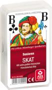 ASS Senioren Skat, französisches Bild. Kartenspiel