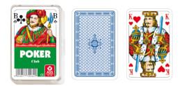 ASS Poker, französisches Bild. Kartenspiel
