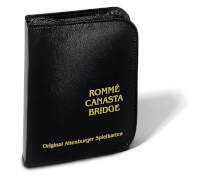 Ravensburger 27073 Rommé, Canasta, Bridge, mit Block und Stift