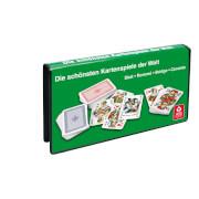 ASS Spielkartenkassette, französisches Bild. Kartenspiel