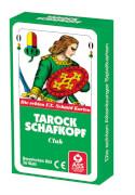 ASS Tarock/Schafkopf, bayerisches Bild in Faltschachtel. Kartenspiel