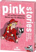 moses black stories Junior - pink stories 2 - 50 geheimgefährliche Rätsel nur