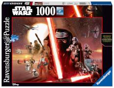 Ravensburger 19549 Puzzle Star Wars Das Erwachen der Macht 1000 Teile