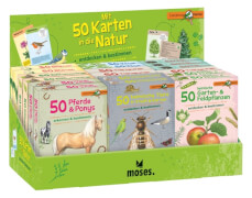 Mit 50 Karten in die Natur sortiert