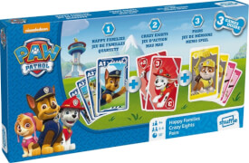 ASS Paw Patrol Spielebox 3 in 1.Kartenspiel