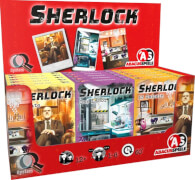 Sherlock Spiele, sortiert