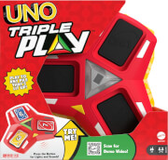 Mattel HCC21 UNO Triple Play